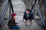 GGF Anne und Gilbert reden
