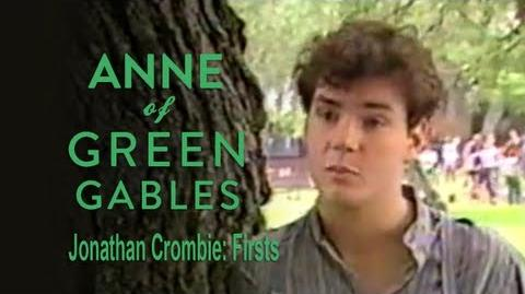 Anne of Green Gables (1985) Interview - Jonathan Crombie on Firsts
