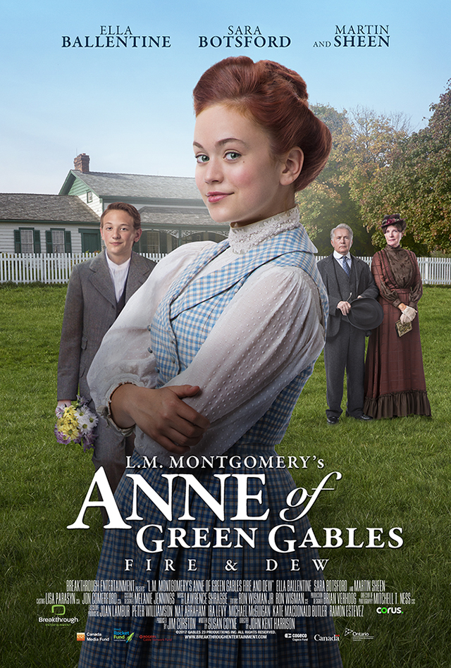 L M Montgomery S Anne Of Green Gables Fire Amp Dew Anne