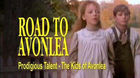 Road to Avonlea BTS - The Kids of Avonlea