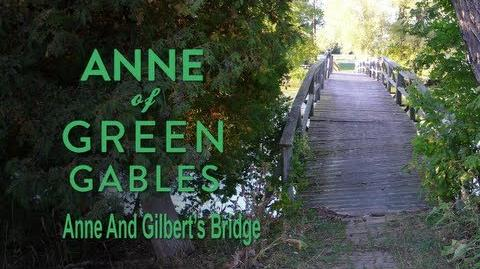 A New Beginning BTS - Anne & Gilbert's Bridge