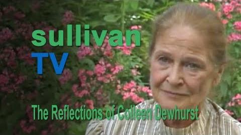 Road to Avonlea Interview - Colleen Dewhurst as Marilla Cuthbert
