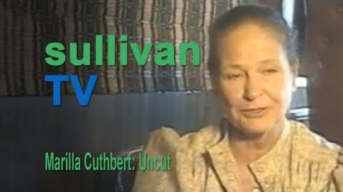 Anne of Green Gables (1985) Interview - Colleen Dewhurst as Marilla Cuthbert
