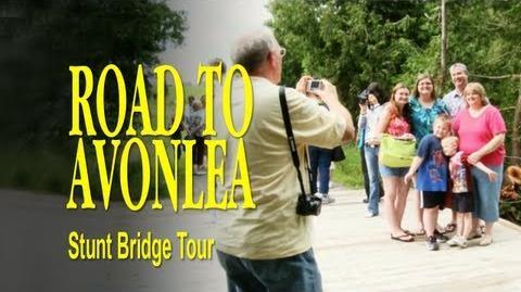 Road to Avonlea BTS - The Stunt Bridge