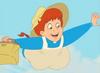 Anne Shirley flying