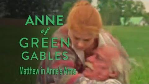 Anne of Green Gables (1985) - Matthew in Anne's Arms