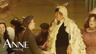 Anne Behind the Scenes - Christmas Panto - Anne with an E-Behind the scenes - Weihnachtsmärchen