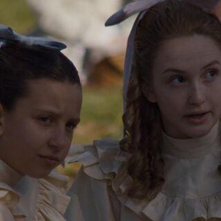 Prissy mit ihrer Schwester Jane