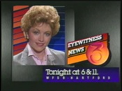 WFSB-TV's Channel 3 Eyewitness News At 6 And 11's Barbara Allen Video ID From 1984