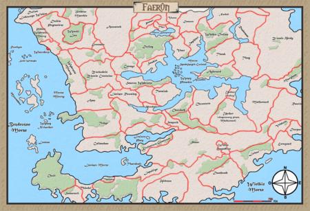Mapa-Faerun