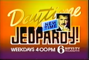WPVI Channel 6 - Jeopardy! - New Time, Weekdays promo - late 1986