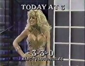 KABC-TV's 3-3-0 Video ID For Late Tuesday Afternoon, December 31, 1985
