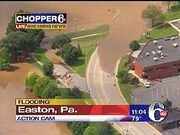 Easton Flooding WPVI 2006
