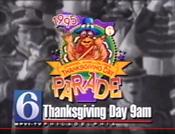 WPVI Channel 6 & Mellon Pops Thanksgiving Day Parade - Thanksgiving Day ident for November 23, 1995
