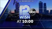 WISN 12 News 10PM open - Early-Mid April 2018