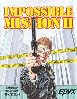 Impossible Mission II Coverart