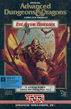 Eye of the Beholder I PC box