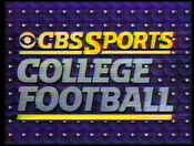 CBS College Football 1987