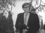 Russell Streiner as Johnny in Night of the Living Dead