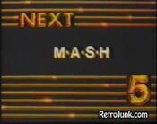WNEW Channel 5 - MASH - Next ident - 1982