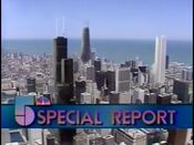 WMAQ-TV's The Channel 5 News' Special Report Video Bumper - Early 1986