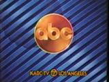 ABC-TV's Video ID With KABC-TV Los Angeles Byline From Late 1983