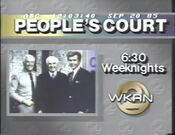 WKRN Channel 2 - The People's Court - Weeknights ident - Late 1985