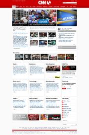 New CNN Website 2009-10-25