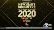 KGO ABC7 - Dick Clark's New Year's Rockin Eve With Ryan Seacrest 2020 - Tuesday promo for December 31, 2019