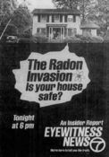 WABC Channel 7 Eyewitness News 6PM - An Insider Report, The Radon Invasion - Tonight promo for July 15, 1985