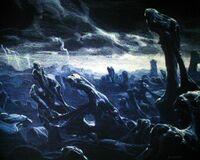Aliens (1986) - LV-426 concept art