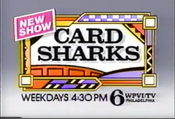 WPVI Channel 6 - Card Sharks Syndicated-Version - Weekdays ident - Late 1986