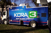 KCRA Sattelite Truck