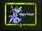 WNEW-TV Happy Easter ID Spring 1984