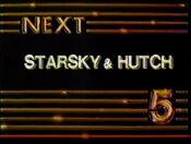 WNEW Channel 5 - Starsky & Hutch - Next ident - 1982