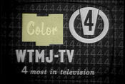WTMJ-TV's In Color Video ID From 1964