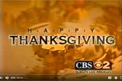 KCBS-TV's Happy Thanksgiving Video ID - Late November 1999