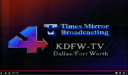 KDFW-TV's Times Mirror Broadcasting Station Video ID From Late 1986