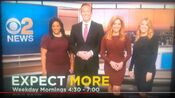 WCBS CBS2 News This Morning - Expect More - Weekday Mornings promo-id - Early-Mid December 2019