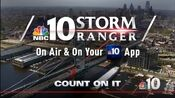 WCAU NBC10 News - Storm Ranger promo - Late January 2019