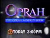 KABC Channel 7 - Oprah - Today promo from late 1994