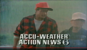 WPVI Channel 6 Action News - Accu-Weather, Yup! promo - Late May 1986
