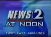 WKRN News 2 12PM open - Late September 2000