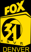 KDVR Fox 31 logo from 1988