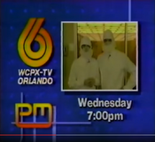 WCPX-TV's P.M. Magazine Video ID - Late 1986