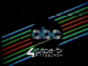 ABC Network ident with WTAE-TV Pittsburgh byline - Fall 1979