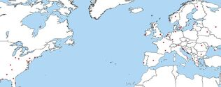 Endwar locations