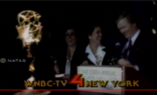 WNBC News 4 New York - New York Emmy Winner For Outstanding News Braodcast ident - Early Spring 1986
