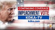 KDKA-TV News - Impeachment Vote, Continuing Coverage promo for the week of December 16, 2019