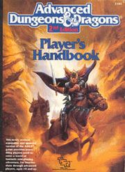 AD&D 2nd Edition Player's Handbook